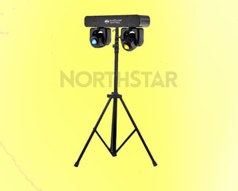ADJ Twin LED Moving Head System